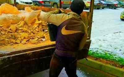 Вывоз строительного мусора не нужного хлама Газель оказываем услуги